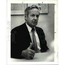 1987 Press Photo Capt. John Testrake Pilot of the Hijacked TWA Jet