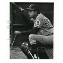 1987 Press Photo Kansas City Royals Manager Billy Gardner