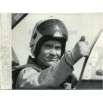 1970 Press Photo Haise ready for Jet Flight