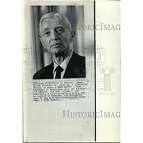 1972 Press Photo Adm Hyman George Rickover to marry Cmdr Eleonore Ann Bednowicz