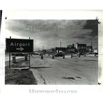 1985 Press Photo Cleveland Hopkins Airport - cva47221