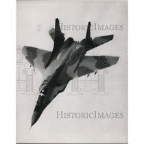1991 Press Photo Soviet Mig 29 Airplane