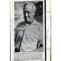 1970 Press Photo Professor Hannes Alfven, Nobel Physics prize