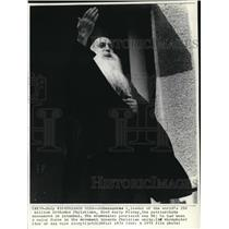 1972 Press Photo Athenagoras, leader of the Orthodox Christians died