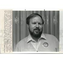 1984 Press Photo Larry Nidelman lost job at Perry Nuclear Power Plant