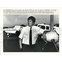 1984 Press Photo Thomas Krukemeyer is among the youngest airport owners in U.S.