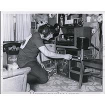 1971 Press Photo Bedroom of David Spero - 147