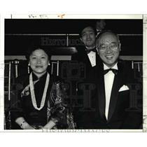 1991 Press Photo Republic of China Ambassador Chou Jen Tou and his wife Maria