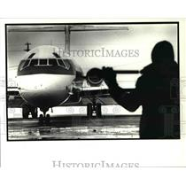 1989 Press Photo Hopkins Airport