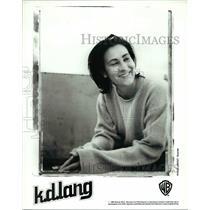 1995 Press Photo K.D. Lang - cvp35814