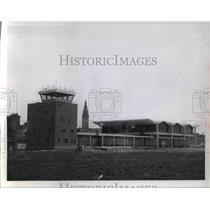 1961 Press Photo Burke Lakefront Airport in downtown Cleveland - cva47495