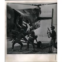 1962 Press Photo The United States helicopter transports Vietnamese troops