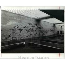 1978 Press Photo Cleveland Hopkins International Airport