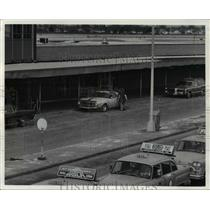 1972 Press Photo Cleveland Hopkins AIrport