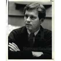 1984 Press Photo Neil Van Duyn, pres. of Fashion Wallcoverings