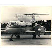 1987 Press Photo Lockheed Propfan