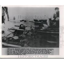 1955 Press Photo Saigon fighting takes its Toll