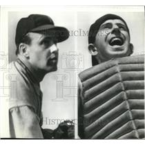 1937 Press Photo Wes and Rick Ferrell of Boston Red Sox
