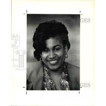 1990 Press Photo Fashion Designer Sharon Scovil
