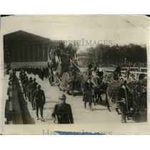 1928 Press Photo Paris France funeral of Maurice Bikanowski Commerce Minister
