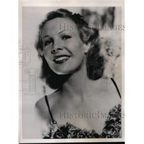 1940 Press Photo Hollywood Calif Screen star Wendy Barrie - nex83782