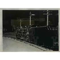 1938 Press Photo Locomotive of Milwaukee Union train at RR club - nex83181