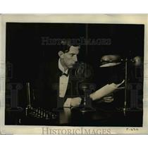 1931 Press Photo Prince Wilhelm of Sweden to make radio broadcast