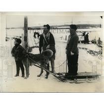 1930 Press Photo Members of Dr Louis Cuisiniers family at Murray Bay - nee68552
