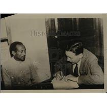 1935 Press Photo Will Barber American Newspaper Correspondent war Ethiopia