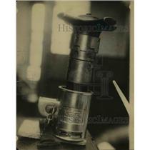 1921 Press Photo Karlock Locking Device
