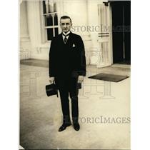 1922 Press Photo Francisco Sanchez Latour Guatemalan Minister in DC