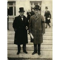 1922 Press Photo Guatemalans Francisco Sanchez Latour, Marceal Prem in DC