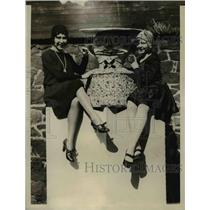 1930 Press Photo Philadelphia Pa Jack in th eBox toy, Helen Charleston,