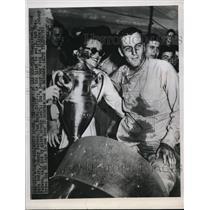 1949 Press Photo Arlington Downs Tex AAA 100 mile race Johnny Parson - nes32308