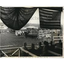 1928 Press Photo View Of The Washington Horse Show