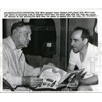 1965 Press Photo Chicago Mets mgr Casey Stengel & coach Yogi Berra - nes31135