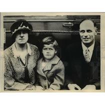1926 Press Photo Gertrude Darling Heron Chicago Red Cross, Al Bracey