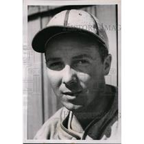 1939 Press Photo St Louis Cardinals rookie outfielder Elvin Adams - nes29925