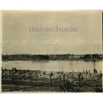 1920 Press Photo Sulphue Mines at Lake Charles LA