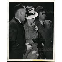 1939 Press Photo Crown Prince Olav, Princess Martha of Norway, Guy D. Edwards