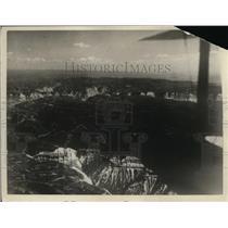1925 Press Photo Aerial Map Of Colorado - nee59719