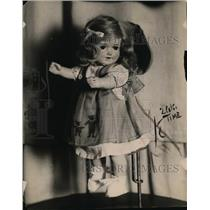 1918 Press Photo Goldilocks doll of Mrs Raleigh collection - nex84766