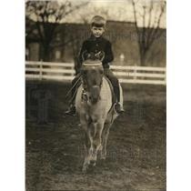 1923 Press Photo Cornelius Roosevelt son of Theodore Roosevelt Sec of Navy