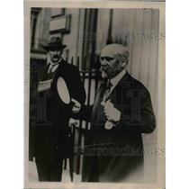 1922 Press Photo S Poincare Premier of France at London Conference  - nee71995