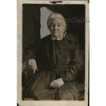 1919 Press Photo Mrs Catherine Brochkovakaya grandmom of Russian revolutuon