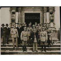 1931 Press Photo Col. Fernando Borges & other suppress Portugal revolt