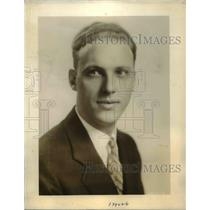 1930 Press Photo Howard Petrie to be among newest addition to NBC radio family