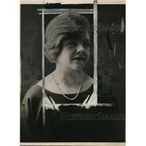 1922 Press Photo Megan Lloyd George Daughter of British Premier Lloyd George