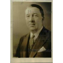 1928 Press Photo Commander Louis Sable Naval attache of French Embassy DC