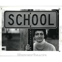 1988 Press Photo Mary Spor, Westlake School Board member - cva43962